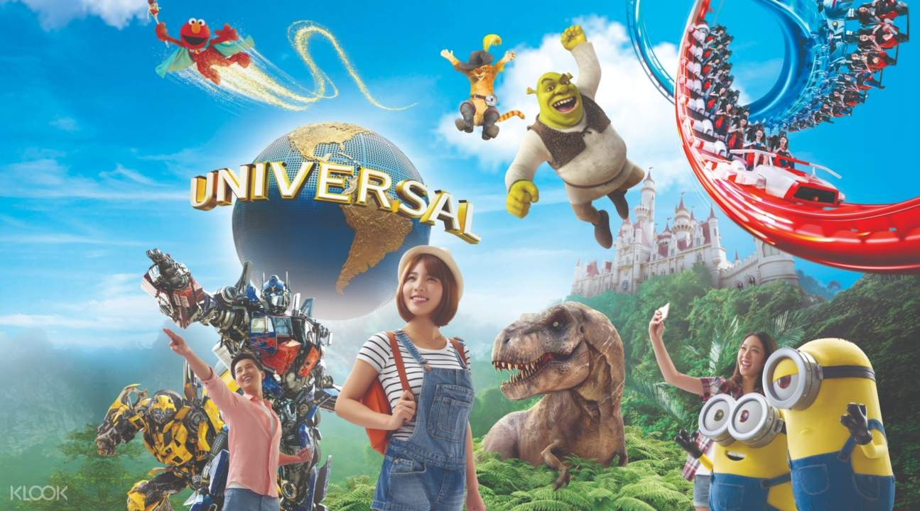 a poster for Universal Studios Singapore
